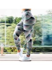 Printed High Waist Tight Workout Leggings