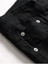 Night Club Printed Slim Fit Jeans