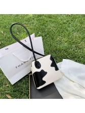Fashion Milk Lines Ladies Shoulder Bag