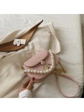 Fashion Faux-Pearl Versatile Shoulder Bag