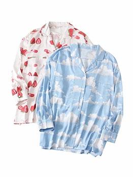 Lantern Sleeve Print Blazer Short Dress