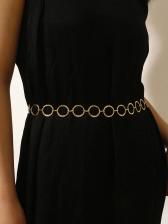 Simple Water Ripple Handmade Waist Chain
