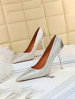 Euro Design Elegant Stiletto Heels For Wedding
