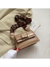 Chic Crocodile Pattern Thick Shoulder Strap Shoulder Bags