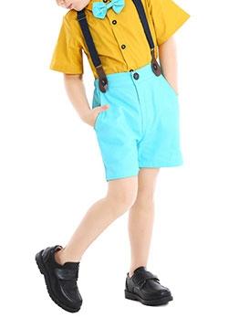 Hot Sale Short Sleeve Boys Shorts Suit