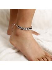 Creative Full Rhinestone Adjustable Anklet For Women
