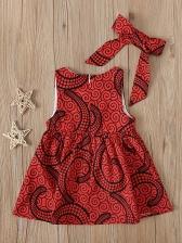 Casual Sleeveless Beautiful Dresses For Girls