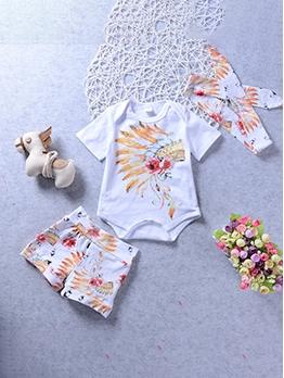 Hot Sale Cute Baby Unisex Pants Set