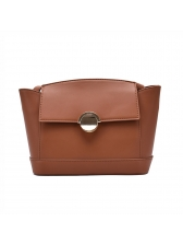 Simple Style Solid Shoulder Bags For Women