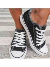 Versatile Canvas Sneakers For Women