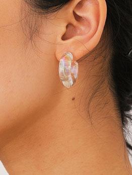 Personality Street Snap Easy Match Earrings