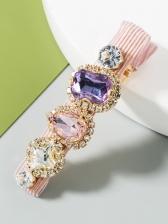 Colourful Glass Rhinestone Fashion Hair Accessories