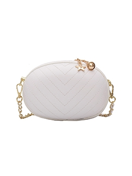 Pop Oval Solid Fashion Shoulder Bag