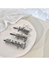 Rhinestone Three Pieces Hair Accessories