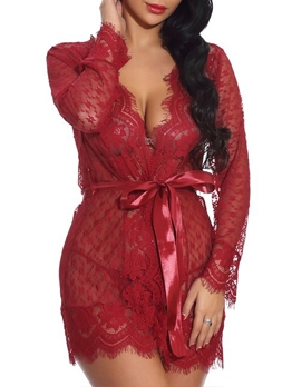 See Through Lace Womens Nightwear