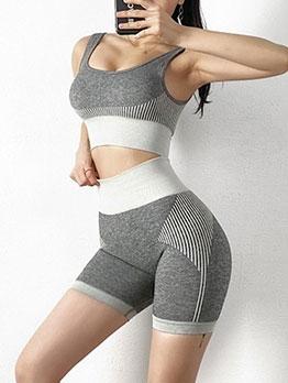 High Waist Elastic Seamless Lift Hip Yoga Shorts