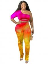 Tie Dye Nightclub Women Trouser Set