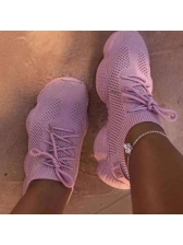 Euro Solid Color Women Running Trainers