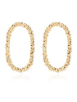 Irregular Round Solid Trendy Earrings