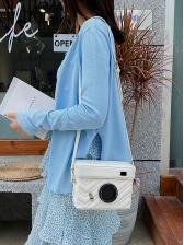 Camera Shape Threaded New Shoulder Bags