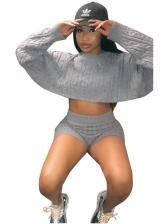 Autumn Sweater Two Pieces Pants Set