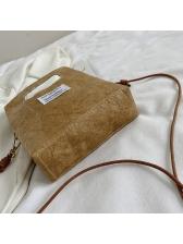 Removable Thin Belt Hollow Out Handle Shoulder Bag