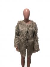 New Faux Fur Tassels Short Coats