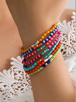 National Style Small Beaded Bracelet For Women