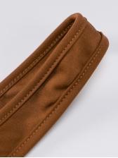 U Neck Solid Crop Top And Skinny Pants Set