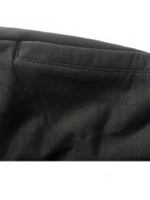 Printed Drawstring Mens Casual Sweatpants