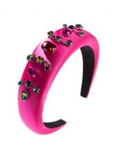 Colourful Rhinestone Fashion Sponge Hair Hoop