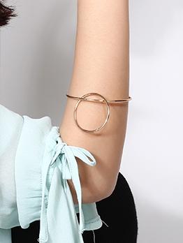 Simple Creativity Art Double Loop Bracelet