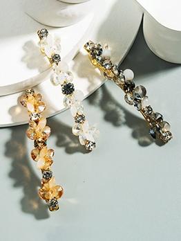 Fashion Rhinestone Crystal Bang Hairpin
