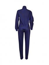 Hot Sale Multicolor Thick Leopard Print Casual Suit