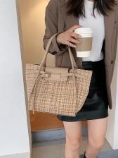 Fashion Large Capacity Canvas Tote Bag