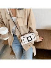 Dating Chic Solid Women Messenger Bag