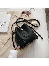 Attractive Design Solid Ladies Shoulder Bag
