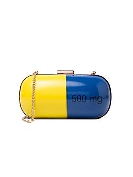 Funny Creative Capsule Chain Shoulder Bag Women