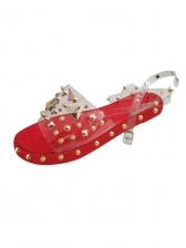 Fashion Rivets Open Toe Flat Sandals