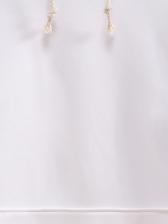 Trendy Contrast Color Long Sleeve Pullover Hoodie