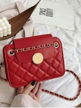 Korean Style Chain Crossbody Small Square Bag