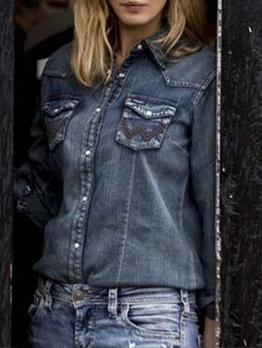 EurAmerican Solid Pocket Women Denim Jackets