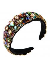 Vintage Style Rhinestone Decor Ladies Headband