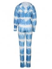 Hot Sale Tie Dye Two Pieces Pants Set