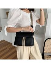 Easy Matching Striped Belt Cross Shoulder Bags