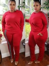 Casual Fashion Women Two Pieces Trouser
