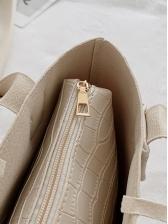 Vintage Stone Grain Simple Tote Bags