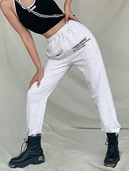 Fashion Print High Waist Harem Pants