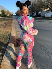 Trendy Tie Dye 2 Piece Outfits