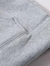 Letter Long Sleeve Cool Hoodies